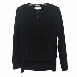 Calvin Klein Invisible Fit Solutions Black Suit